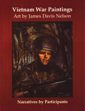 Book vietnam war paintings art by james davis nelson